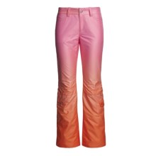 Bogner Anka Panneaux Printed Ski Pants - Insulated (For Women) in Pink Fade - Closeouts
