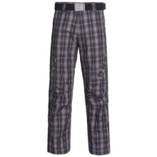 Bogner Aros Checkered Ski Pants - Insulated (For Men) in Navy Checkered - Closeouts