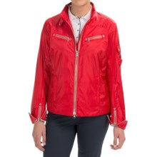 Bogner Baika Crop Golf Jacket (For Women) in Red - Closeouts