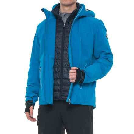 Bogner Basti-T Ski Jacket - Waterproof, Insulated (For Men) in Blue Multi - Closeouts