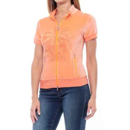 Bogner Binie Sweatshirt - Short Sleeve (For Women) in Orange - Closeouts