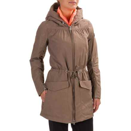 Bogner Carley-D Coat - Zip-In Liner, Insulated (For Women) in Taupe - Closeouts