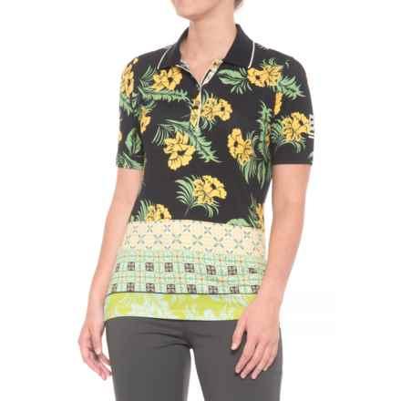 Bogner Cloe Golf Polo Shirt - Short Sleeve (For Women) in Black - Closeouts