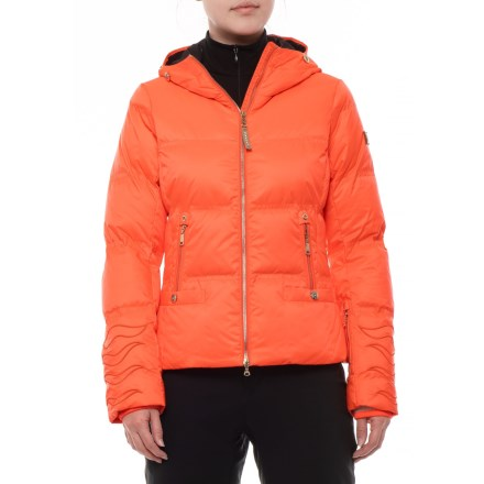 Bogner Cora-D Hooded Down Ski Jacket - Insulated (For Women) in Neon eadcfc0d1