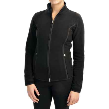Bogner Cosy Microfleece Jacket (For Women) in Black - Closeouts