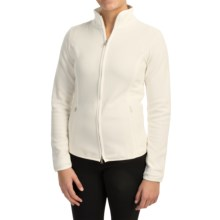Bogner Cosy Microfleece Jacket (For Women) in Off White - Closeouts