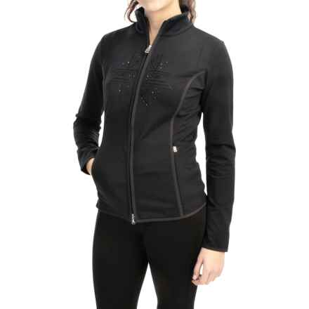 Bogner Cosy Stretch Softshell Jacket (For Women) in Black - Closeouts