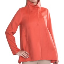 Bogner Crystal Outdoor Jacket - Wool-Cashmere (For Women) in Coral - Closeouts