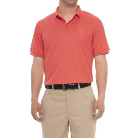 Bogner Daniel Polo Shirt - Short Sleeve (For Men) in Red - Closeouts