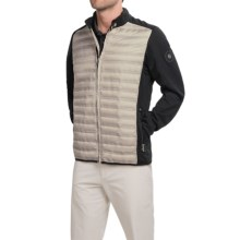 Bogner Davy-D Down Golf Jacket - Full Zip (For Men) in Beige - Closeouts