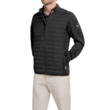 Bogner Davy-D Down Golf Jacket - Full Zip (For Men) in Black - Closeouts