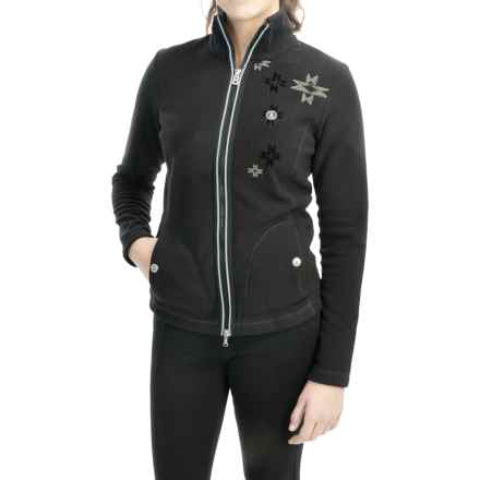 Bogner Delicate Microfleece Jacket (For Women) in Black - Closeouts