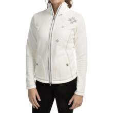 Bogner Delicate Microfleece Jacket (For Women) in Off White - Closeouts