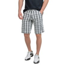 Bogner Diogo-G Cargo Golf Shorts (For Men) in Off White - Closeouts