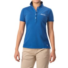 Bogner Dorea Cotton Polo Shirt - Short Sleeve (For Women) in Light Blue - Closeouts