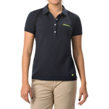 Bogner Dorea Cotton Polo Shirt - Short Sleeve (For Women) in Navy - Closeouts