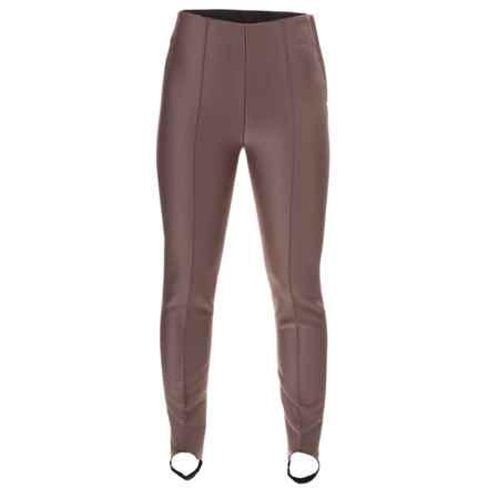 Bogner Elaine Satin Soft Shell Ski Pants (For Women) in Smoked Oak - Closeouts