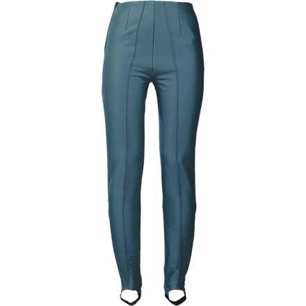 Bogner Elaine Satin Soft Shell Ski Pants (For Women) in Smokey Blue - Closeouts