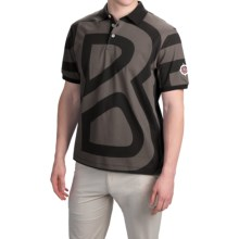 Bogner Elvis Golf Polo Shirt - Short Sleeve (For Men) in Black - Closeouts