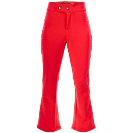 Bogner Emilia 2 Soft Shell Ski Pants (For Women) in Red - Closeouts