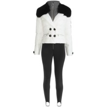 Bogner Emma Ski Suit - 2-Piece, Down, Soft Shell (For Women) in 001 White/Black - Closeouts