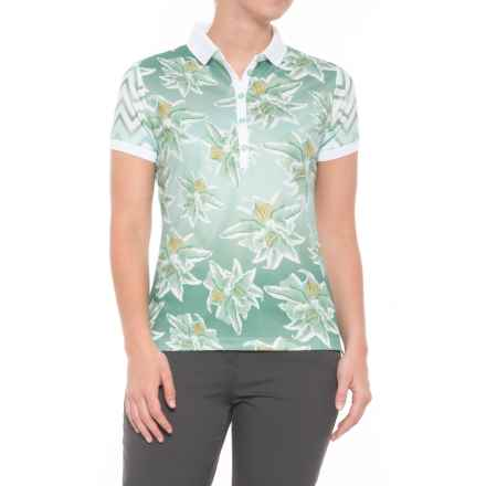 Bogner Emmie Polo Shirt - Short Sleeve (For Women) in Green - Closeouts
