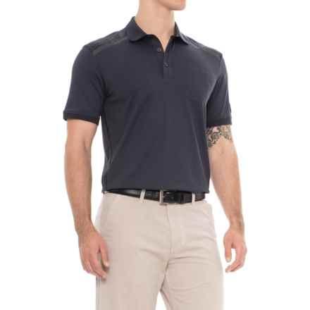 Bogner Evan Golf Polo Shirt - Short Sleeve (For Men) in Blue - Closeouts