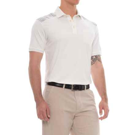 Bogner Evan Golf Polo Shirt - Short Sleeve (For Men) in Off White - Closeouts