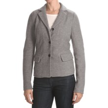 Bogner Fabiana Boiled Wool Jacket (For Women) in 014 Ash - Closeouts