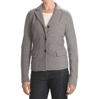 Bogner Fabiana Boiled Wool Jacket (For Women) in 014 Ash