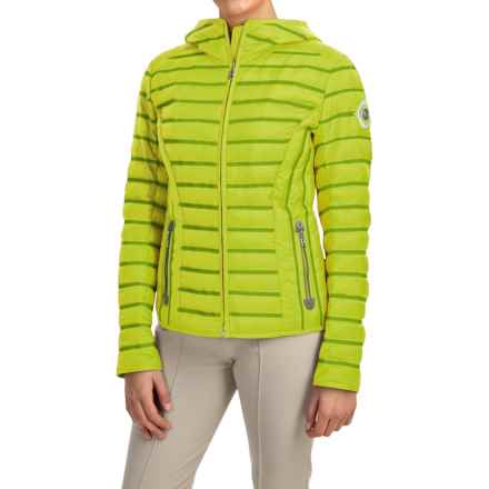 Bogner Filipa-D Down Ski Jacket (For Women) in Lime - Closeouts