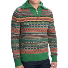 Bogner Fire + Ice Brandon Lana Wool Sweater (For Men) in Green - Closeouts