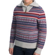 Bogner Fire + Ice Brandon Lana Wool Sweater (For Men) in Grey - Closeouts
