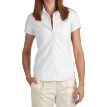 Bogner Fire + Ice Cilia Cotton Shirt - Short Sleeve (For Women) in White - Closeouts