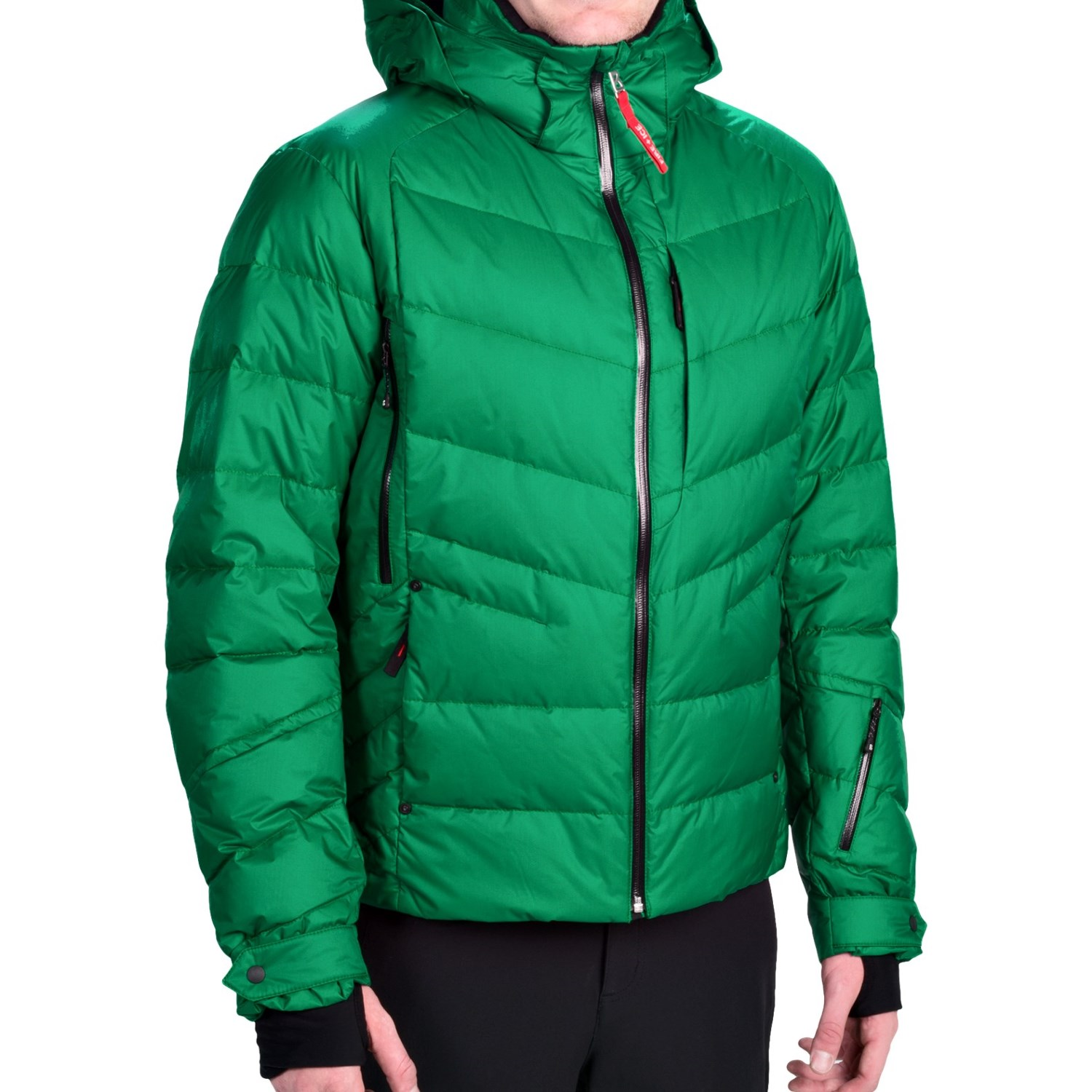 bogner fire ice conor d down ski jacket insulated for men in green. Black Bedroom Furniture Sets. Home Design Ideas
