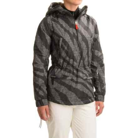 Bogner Fire + Ice Emia Printed PrimaLoft® Ski Jacket - Waterproof, Insulated, Zip Neck (For Women) in Black Zebra - Closeouts