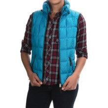 Bogner Fire + Ice Hania-D Light Down Vest (For Women) in Light Blue - Closeouts