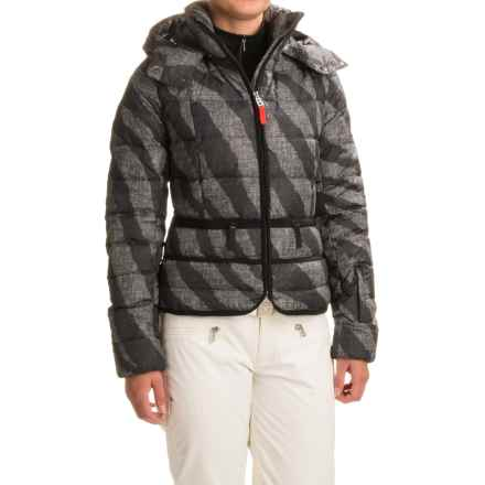 Bogner Fire + Ice Imy-D Printed Down Ski Jacket (For Women) in Black Zebra - Closeouts