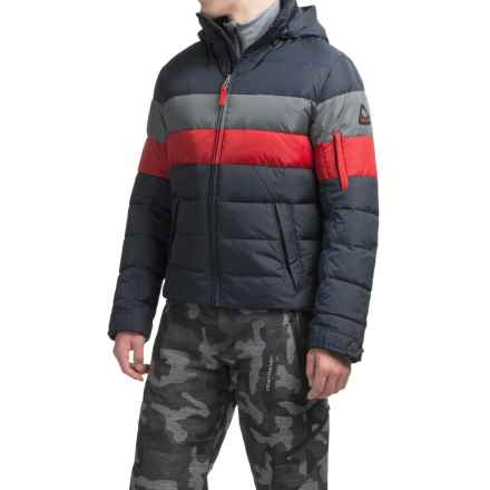 Bogner Fire + Ice Lars2-D Down Ski Jacket - 600 Fill Power (For Men) in Black Multi - Closeouts