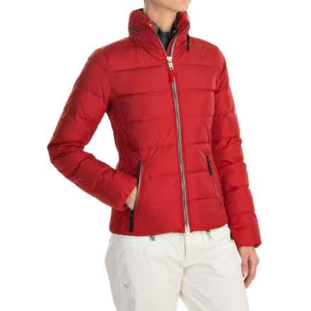 Bogner Fire + Ice Lenja2-D Down Ski Jacket - 600 Fill Power (For Women) in Red - Closeouts