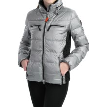 Bogner Fire + Ice Lennja-D Down Ski Jacket - 600 Fill Power (For Women) in Platinum - Closeouts