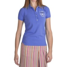 Bogner Fire + Ice Letizia Cotton Pique Polo Shirt - Short Sleeve (For Women) in Pacific Blue - Closeouts
