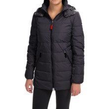 Bogner Fire + Ice Nera-D Down Parka - 600 Fill Power (For Women) in Sapphire Blue - Closeouts