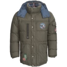 Bogner Fire + Ice Nik-D Coat - 600 Fill Power (For Men) in Olive - Closeouts