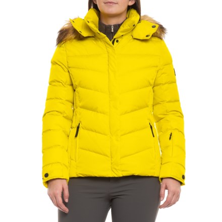 Bogner Fire + Ice Sally Down Ski Jacket (For Women) in Yellow - Closeouts 33821ae9c