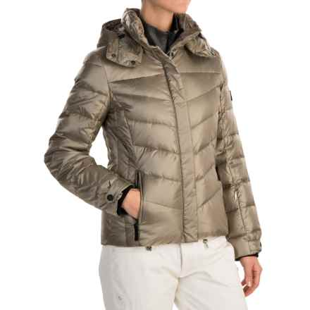 Bogner Fire + Ice Sally2-D Down Ski Jacket - 600 Fill Power (For Women) in Gold - Closeouts