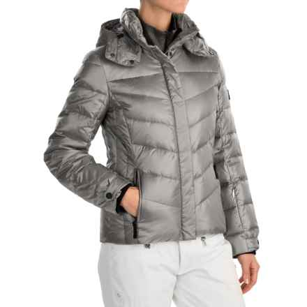 Bogner Fire + Ice Sally2-D Down Ski Jacket - 600 Fill Power (For Women) in Silver - Closeouts