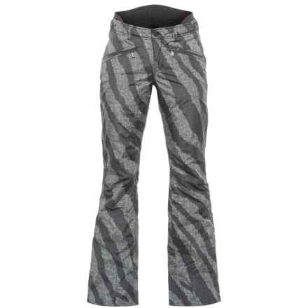 Bogner Fire + Ice Stina Ski Pants - Waterproof, Insulated (For Women) in Black Zebra - Closeouts