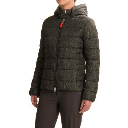 Bogner Fire + Ice Xenia2-D Down Ski Jacket - 600 Fill Power (For Women) in Black/Green - Closeouts