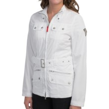 Bogner Fire & Ice Ava Nylon Jacket (For Women) in White - Closeouts